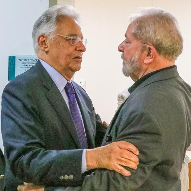 FHC visitou Lula