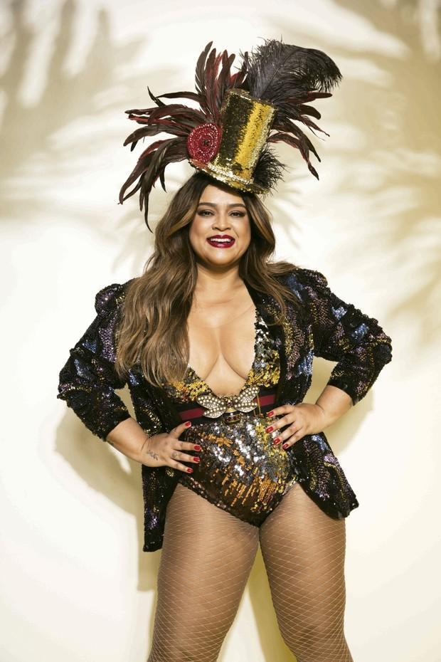 Cantora Preta Gil (Crédito: André Nicolau / Cosmopolitan)