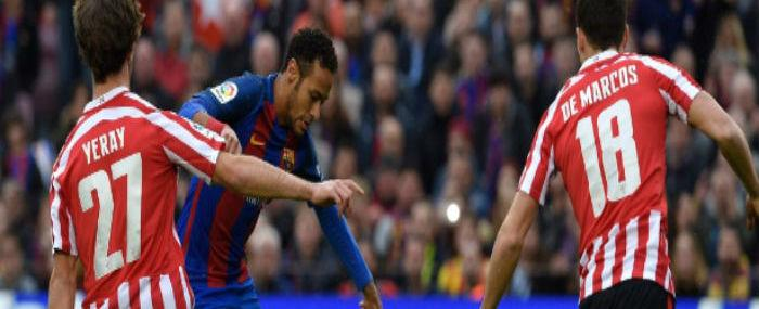 Barcelona faz três no Athletic Bilbao e Neymar se destaca