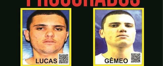 Polícia oferece recompensa por gêmeos acusados de tráfico de drogas