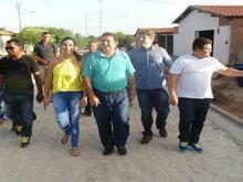 Deputados Rodrigo Martins e  Rubem Martins visitam Santo Inácio