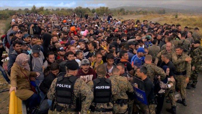 Europa vive crise humanitária (Crédito: Reprodução)