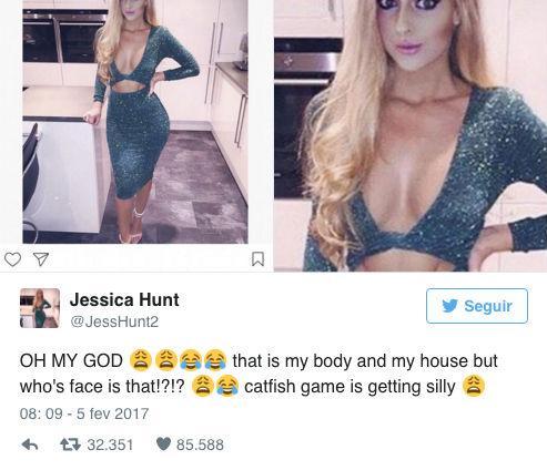 """Britânica descobre que teve corpo """"roubado"""" na internet"""