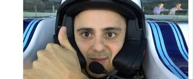"""Massa treina em simulador da Williams: 'De volta aos trabalhos"""""""
