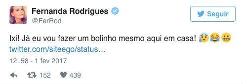 Fernanda Rodrigues faz piada com festa de ex-BBB