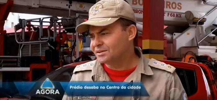 Major José Veloso, diretor de serviços técnicos do Corpo de Bombeiros (Crédito: Rede Meio Norte)