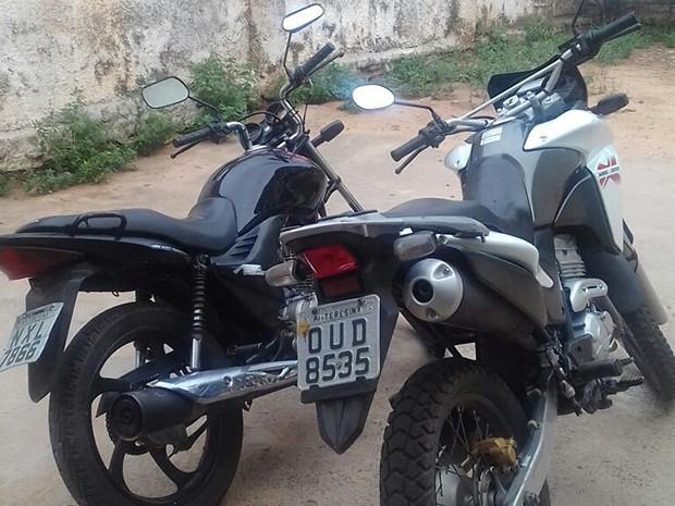 Veículos roubados (Crédito: Divulgação)