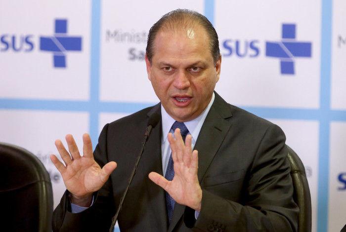Ministro da Saúde, Ricardo Barros (Crédito: Reprodução)