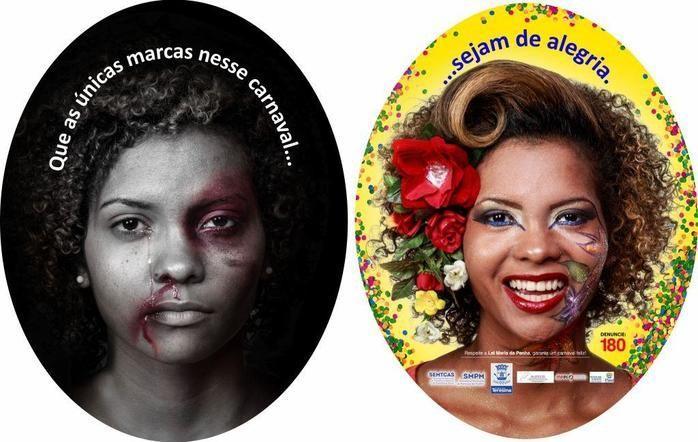 Uma das imagens da campanha (Crédito: Reprodução)