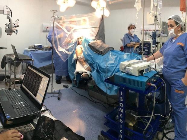 Cirurgia aconteceu em janeiro
