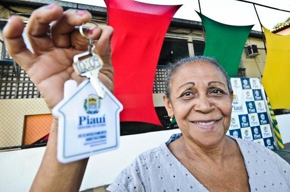 Estado trabalha para realizar o sonho da casa própria de piauienses  (Crédito: Marcelo Cardoso)