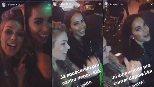Anitta entra de penetra em festa de Samuel L. Jackson em Las Vegas