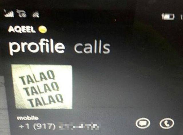 Talaq é a palavra mágica (Crédito: Reprodução)