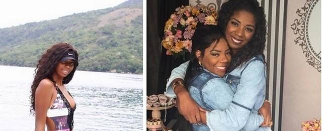 Irmã da cantora Ludmilla faz sucesso nas redes sociais