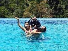 Wanessa Camargo curte dia de piscina e compartilha foto na web