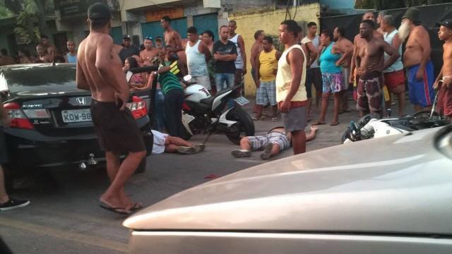 Chacina em São Gonçalo deixa PM e mais dois homens mortos
