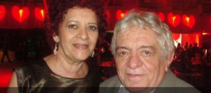 Dorotéia Bezerra de Sabóia com o marido Pires de Sabóia