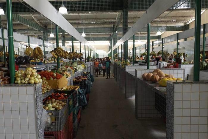 Novo mercado de Oeiras (Crédito: Reprodução)