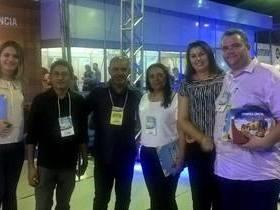 Prefeito e secretários de Lagoa Alegre participam de Congresso