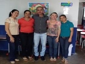 Sec. de Educação visita a Creche Nossa Senhora do Perpetuo Socorro