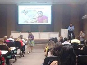Prefeita Vilma Lima  e equipe participa do Congresso das Cidades