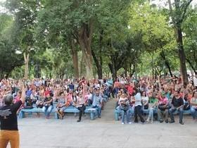 Sindserm mobiliza quase 800 servidores em assembléia e manifesto