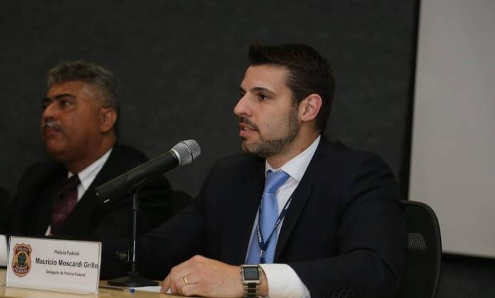 Delegado Mauricio Moscardi Grillo (Crédito: Parceiro / Agência O Globo)
