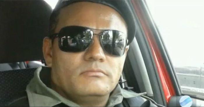 Cabo da Polícia Militar foi morto em assalto (Crédito: Reprodução)