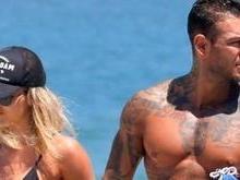 Lucas Lucco curte dia de folga com a ex-namorada