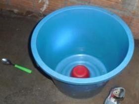 Criança de 03 anos morre afogada em balde no Sitio das Onças