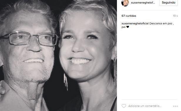 Pai de Xuxa morreu