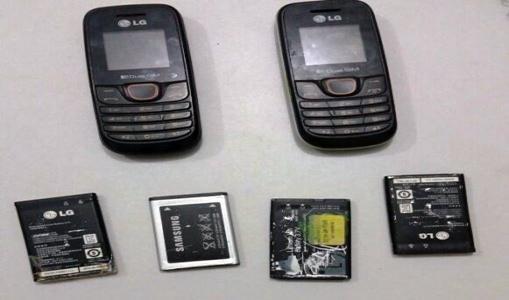 Detento é flagrado com celulares e baterias após audiência