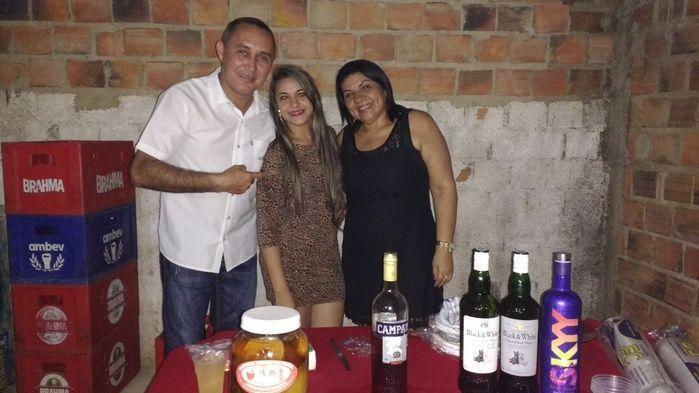 Aristeu, Josélia e Genuídes (Crédito: Edilene Lima)