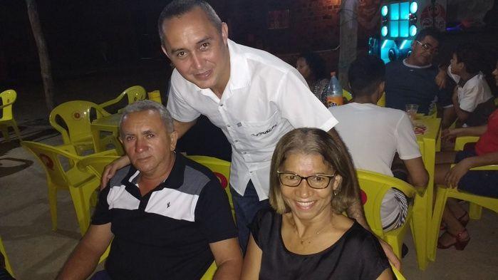 Chico Onório e sua Esposa Marilene (Crédito: Edilene Lima)