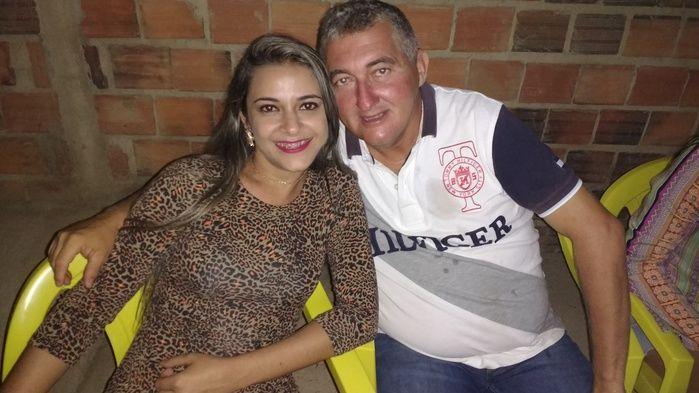 Edilene Lima (Crédito: Josélia organizadora da festa e Nenzão uma grande colaborador do evento)