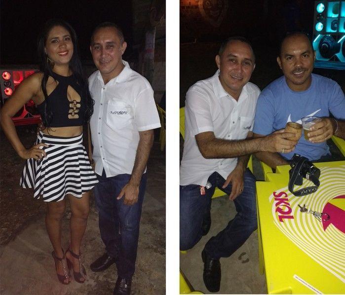 Foto à Esquerda Paulinha Show e à Direita Adoneudo (Crédito: Edilene Lima)