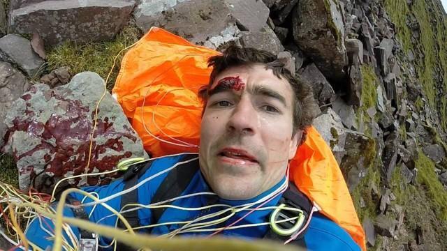 Niall McCann preferiu registrar o acidente a lamentar o ocorrido (Crédito: Reprodução)