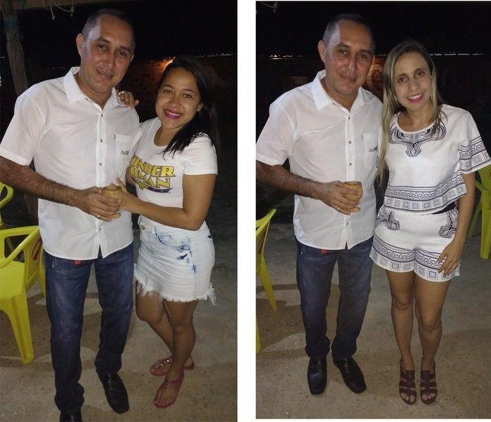 Foto à Esquerda Aylanda e à direita Karla (Crédito: Edilene Lima)