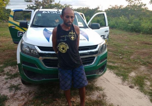 Homem acusado de dois homicídios no Ceará é preso no Piauí