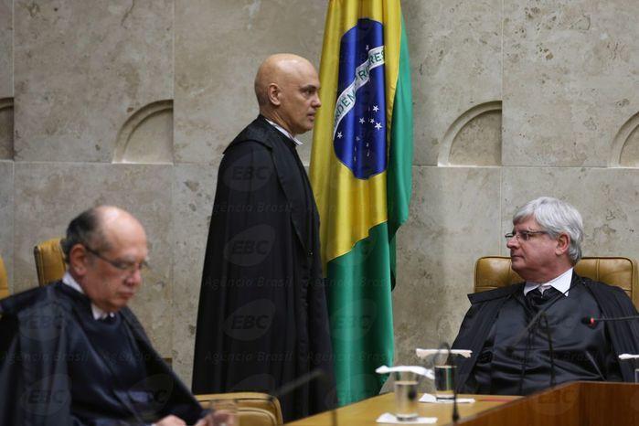 Alexandre de Moraes toma posse no STF