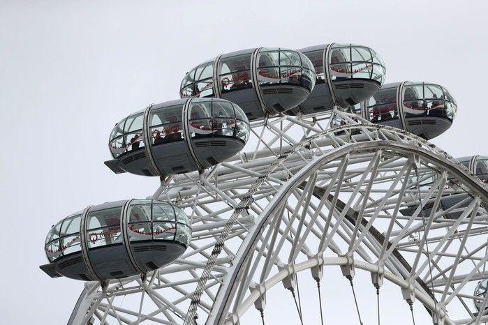 Famosa London Eye, roda-gigante