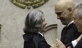 Alexandre de Moraes toma posse e assume vaga de Teori no STF