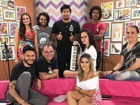 Banda MeroHomem agita o Baphon TV