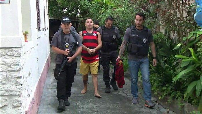 Acusado é preso na Ilha do Governador
