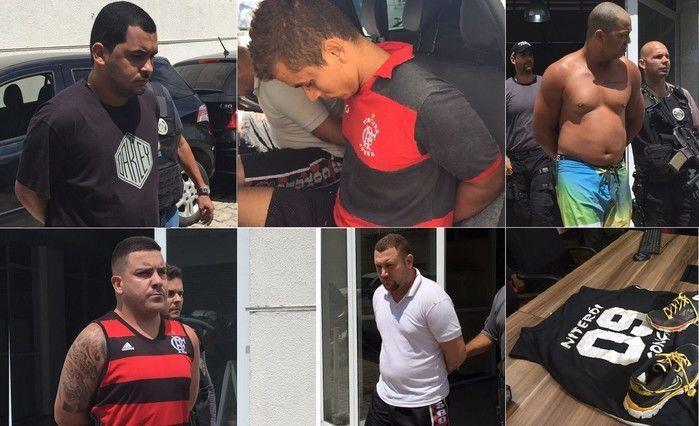 Cinco torcedores foram presos pelo crime