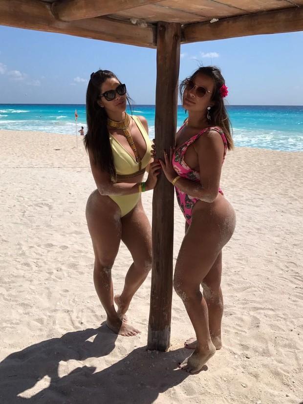 Geisy Arruda e Nuelle Alves