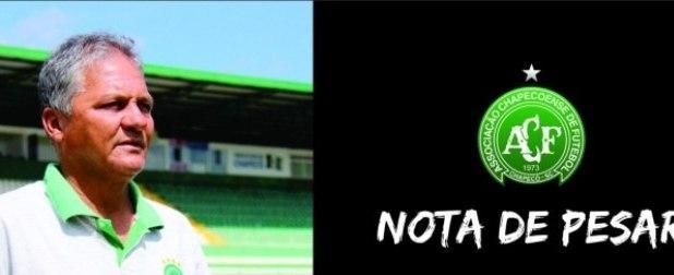 Morre Betinho, primeiro jogador profissional da Chapecoense
