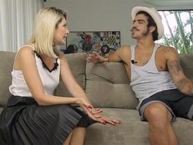 Caio Castro brinca que já recebeu nudes de Antônia Fontenelle