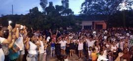 População de União faz manifestação em prol do Capitão Miguel Luz
