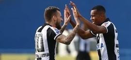 Santos vence Santo André e se aproxima de classificação no Paulista